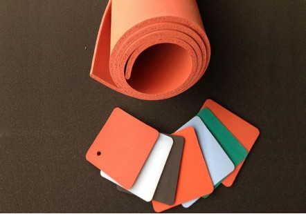 Heat Resistant Silicone Rubber Foam