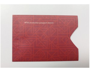 New Design Tear-Resistant shielding RFID card sleeve