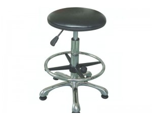 PU Leather ESD Round Chair