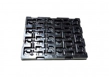 ESD Conductive PS Packing Tray
