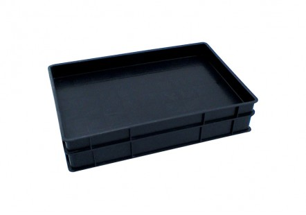 Black Plastic Conductive Trays