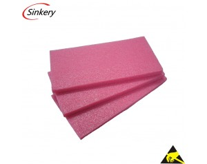 Good quality Antistatic Pink color EPE foam