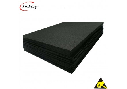 Black Eva foam factory directly sell foam sheet
