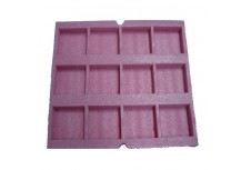 Rigid box with  static protective EPE foam tray