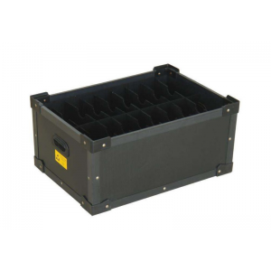 Black Molding ESD Components Box For Packing