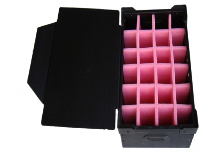 Corrugate box with EPE foam insert the packing box