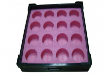 Electronic factory using pink EPE foam with ESD box