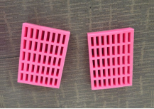 Pink ESD Anti static EPE Foam Tray