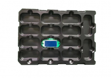 ESD PP Material plastic tray
