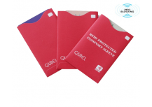 rfid blocking paper card sleeve