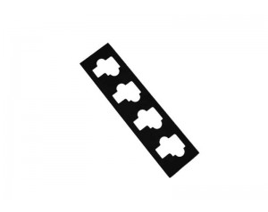 Die Cut Black Conductive Foam Gasket